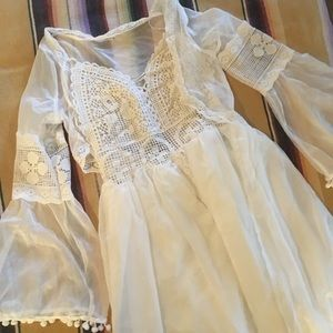 Dresses & Skirts - White Chiffon Gown